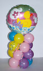 BABY SHOWER FOIL BALLOON TABLE CENTERPIECE DISPLAY BOY/GIRL WITH INSTRUCTIONS