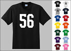 Number 56 Fifty Six T-Shirt