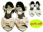 Girls kids children brand new party shoes sandals size7 8 9 10 11 12 13 1 1.5 2