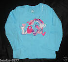 THE CHILDREN'S PLACE Girls Long Sleeve Shirt  NWT (LOVE )