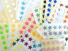 15mm Star Colour Code Stickers Coloured Sticky Self-Adhesive Award Reward Labels
