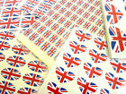 Union Jack British Self-Stick GB Flag Labels Great Britain Stickers