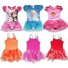 Girls Fairy Party The Explorer Dora Leotard Ballet Tutu Dance Skirt Dress 3-8Y