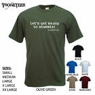 'Lets get ready to Stumble' - St. Patrick's Day / St Patricks Day. Mens T-shirt