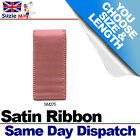 3mm 6mm DOUBLE SIDED SATIN RIBBON - DEEP CORAL - 5m 10m 25m Metres - SM275
