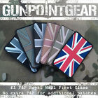 Gun Point Gear Velcro Morale Patch Union Jack Flag Multicam Glow PVC British UK