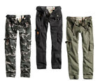 SURPLUS RAW DAMEN PREMIUM SLIMMY CARGO HOSE JEANS Military Pants CHINO PANT