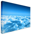 Wall Art Large Cotton Clouds Canvas Pictures For Home Interiors