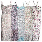 MAXI DRESS LADIES LONG FLORAL PRINT STRAPPY SUMMER MAXI DRESSES 8-14