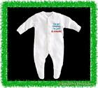 BabyGro / Sleepsuit Boy/Girl/Unisex- im not sleeping im just recharging