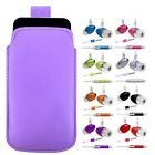 M- LiLAC PULL TAB POUCH CASE COVER + HANDS FREE fOr Samsung Genio Qwerty B3210