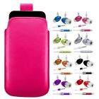M-H-PINK PULL TAB POUCH CASE COVER + HANDS FREE HEADSET fOr BlackBerry Bold 9780