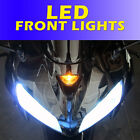 LED Upgrade Kawasaki ZX6R Front LED DRL Daytime Running Lights Bulb ZX9R