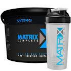 4kg MATRIX COMPLETE 'ALL IN ONE' WHEY PROTEIN CREATINE HMB PEPTIDE MCT