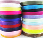 "YOU Pick!50/100 Yards 3/8""(10mm)Sheer Organza Ribbon Craft/Wedding/Party GK06"