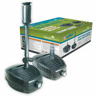 Submersible Water Pond Garden Pump Filter +Fountain All Pond Solutions FPP Range