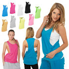 URBAN CLASSICS DAMEN LADIES LOOSE TANKTOP T-SHIRT TOP SHIRT 5 FARBEN XS - XL