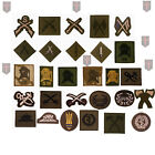 Large Selection of Official British Army Trade / Qual Badges (  LOT 1