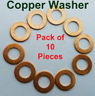 M13 M14 M16 M17 M18  SOLID COPPER WASHER, SUMP, PLUG, BANJO BOLT, SEALING Engine