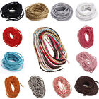 5/10/100M Man-made Leather Braid Rope Hemp Cord For Necklace Bracelet 3mm Hot