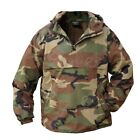 Woodland Camouflage Hooded Anorak All Sizes Field Jacket Smock Coat Army
