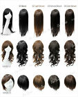 Long Short Straight Curly Costume Party Cosplay Hair Full Extension Wigs +Cap