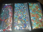 SWAROVSKI FACETED RONDELLE CRYSTAL BEADS MIXED SIZES & COLORS 4&6&8MM(USA SELLER
