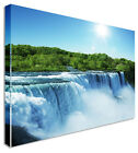 Large Picture Of Waterfall Niagara Falls Canvas Wall Art Print