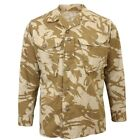British Army DESERT DPM Camouflage Field SHIRTS - All Sizes Camo Jacket