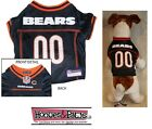 CHICAGO BEARS Dog Jersey NFL Officially Licensed Football Pet Product Gear