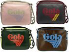 Gola Borsa Tracolla Bag PVC Uomo Donna Redford Shoulder Bag Men Women Cub901 New