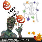 Halloween Horror Cutouts Gel Clings Stickers Decorations All in 1 Listing PS