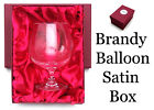 LARGE BRANDY SPIRITS BALLOON 24% Lead Crystal Glass Ideal Presentation Gift NEW