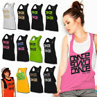 ► URBAN CLASSICS DANCE LADY LADIES DAMEN TANKTOP TANK TOP T-SHIRT SHIRT TOP ◄