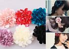 Women Hair Accessory Bohemia Vintage Style Beautiful Fabric Flower Hair Clip