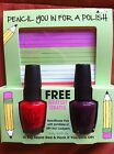 OPI Pencil You In For A Polish Free Note Pad, Dear OPI I Love You Free Pen