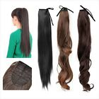 1 Straight/Curly/Wavy Wig Synthetic Fiber Hairpiece Ponytail Hair Extension