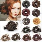 2pcs Synthetic Fiber Women Girl Hair Bun Scrunchie Wholesale Free Ship