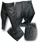 WWII STYLE LEATHER DESPATCH RIDER BREECHES, BLACK or BROWN [25036 / 25038]