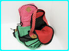 Fun and colourful Pokadots Fabric Rucksacks