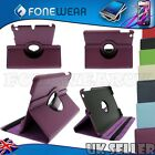 Luxury PU Leather 360 Degree Rotating Flip Case Stand Cover for iPad Mini NEW UK