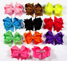 Wholesale Baby Girl Costume Boutique Hair Bows Clips Weddings 10/50/100pcs BHK