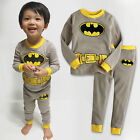 "NWT Vaenait Toddler Kid Boy Long Sleepwear Pyjama Set "" I am Batman """