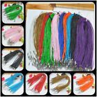 Wholesale Lots 20/50/100pcs Ribbon Voile Charms Necklace Cords 450mm