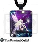 Fairy Faerie Wicca Moon Star Tree Fantasy Pagan Wing Art Charm Pendant Necklace