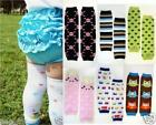 Внешний вид - Boy/Girl Striped Cotton Baby Toddler Arm Leg Warmers Leggings Kids Long Socks OS