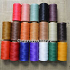 284yrd x1mm Leather Sewing Waxed Thread For Chisel AWL Upholstery Shoes Luggage