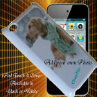 Apple iPod Touch 4 Protective Case - Personalised with your own Photo / Name