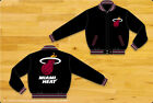 Miami Heat Kids Youth Reversible Black Wool Officially Licensed Jacket-JH Design