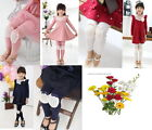 Girl Kids  Pants Cotton Trousers Baby Clothes Tights Toddler 2014 Design